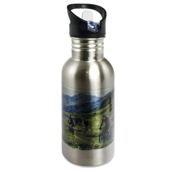 Gourde en acier inoxydable sans BPA