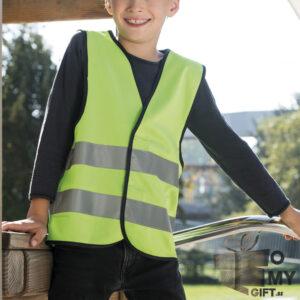 Gilet fluorescent enfant personnalisé