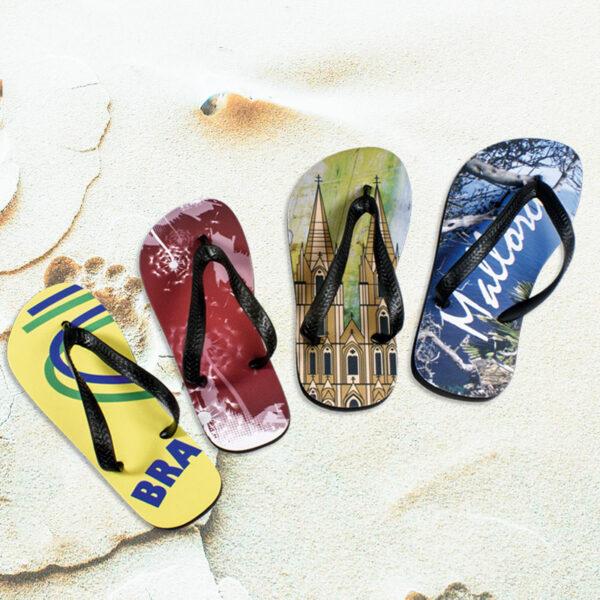 Tongs sandalettes personnalisées