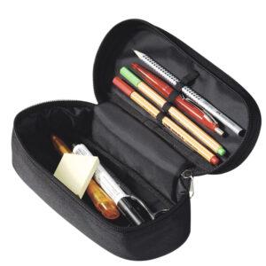 Trousse ovale à crayons personnalisée