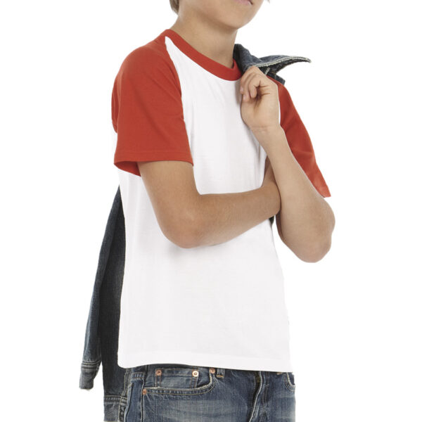 T-shirt base-ball ado personnalisé