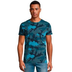 T-shirt camouflage personnalisé
