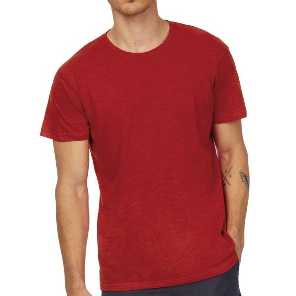 T-shirt personnalisé pour homme en coton naturel