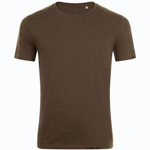 Tshirt unicolore personnalisé pour homme