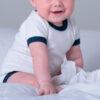 Body bébé contrasté personnalisé