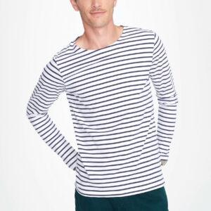Tshirt marinière personnalisé pour homme