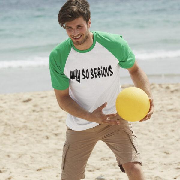 Tshirt base-ball personnalisé pour homme