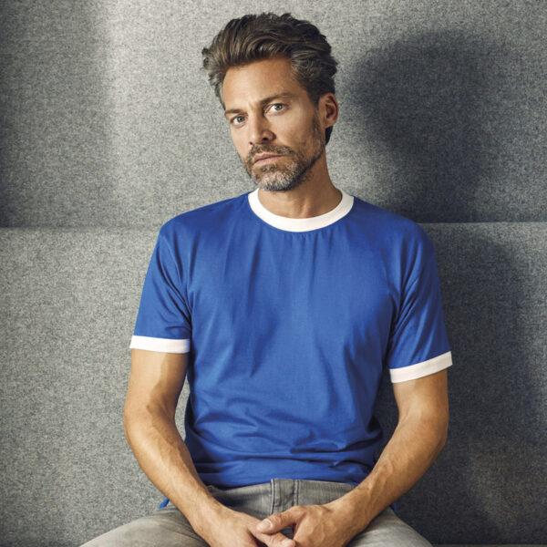Tshirt contrasté pour homme personnalisé