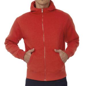 Sweat à capuche zipé personnalisé pour homme qualité supérieure