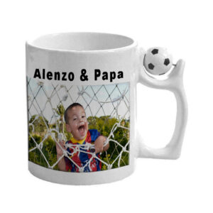 Mug football original personnalisé
