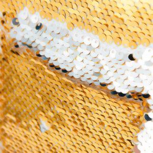 Housse de coussin sequin personnalisée