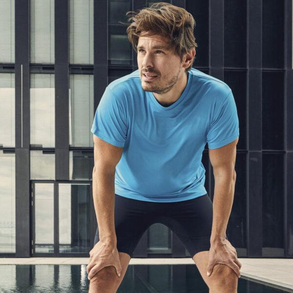 Tee-Shirt respirant spécial sport personnalisé pour homme