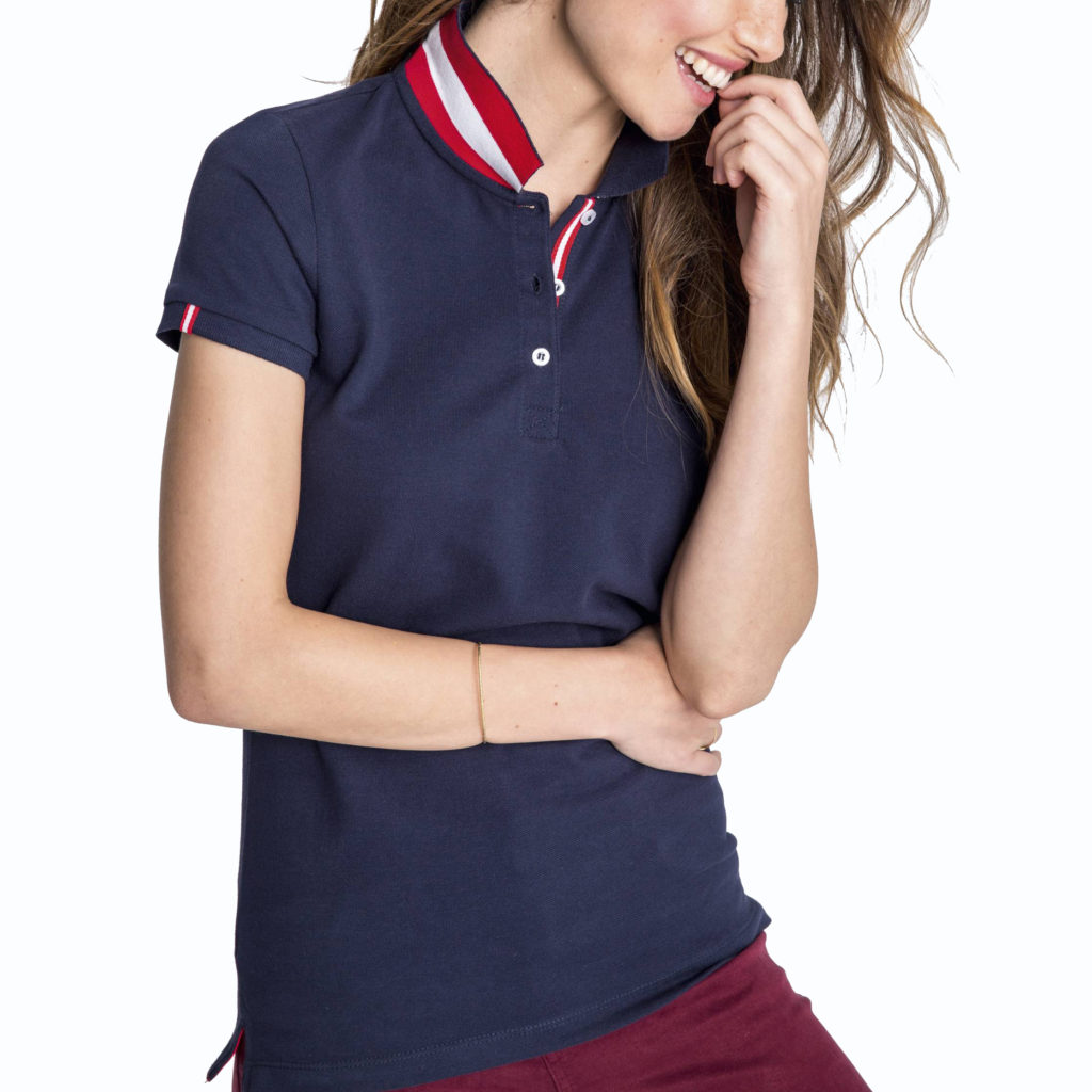 nombreux dans la variété sortie en vente info pour Polo personnalisé aux couleurs du mondial pour femme-omygift.be