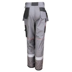 Pantalon de travail spécial chantier gris et noir