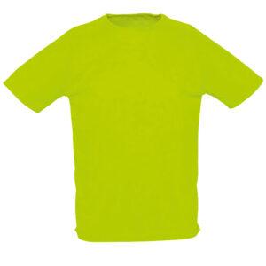 T-shirt sport respirant unicolore personnalisé