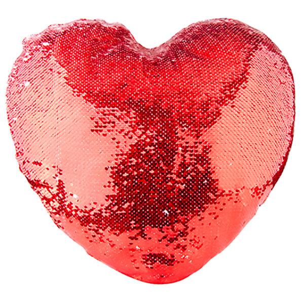Housse coeur en Sequin personnalisée