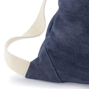 Sac de gym en jean personnalisé