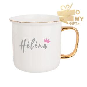 Mug original doré personnalisé