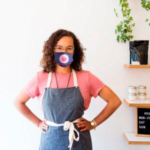 Masque de protection faciale personnalisé