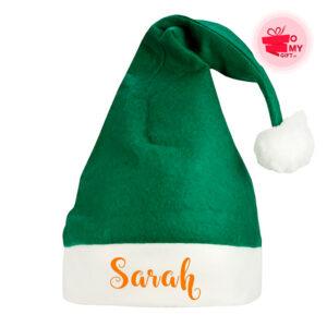 Bonnet de père Noël personnalisé