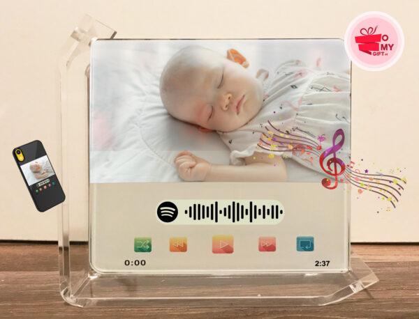 Cadre plaque musicale Spotify