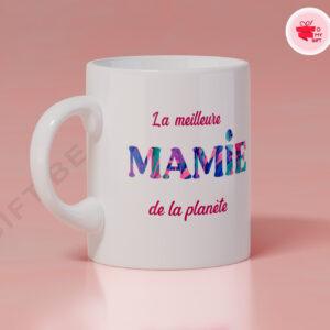Mug personnalisé meilleure mamie